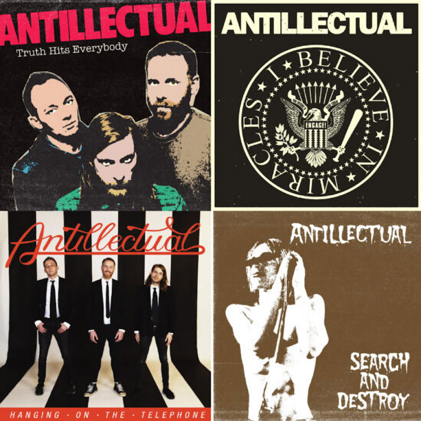Antillectual – Covers EP (Various Labels)