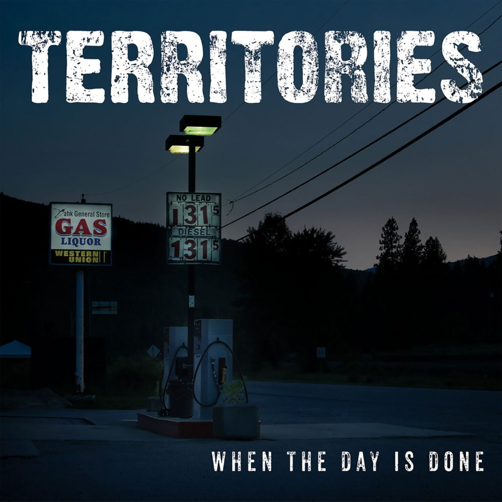 Territories - When The Day Is Done CD EP - Pirates Press Records