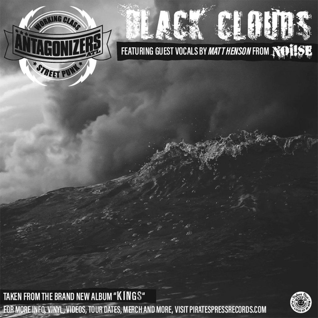 "Antagonizers ATL - Black Clouds Flexi 7"" - Pirates Press Records"