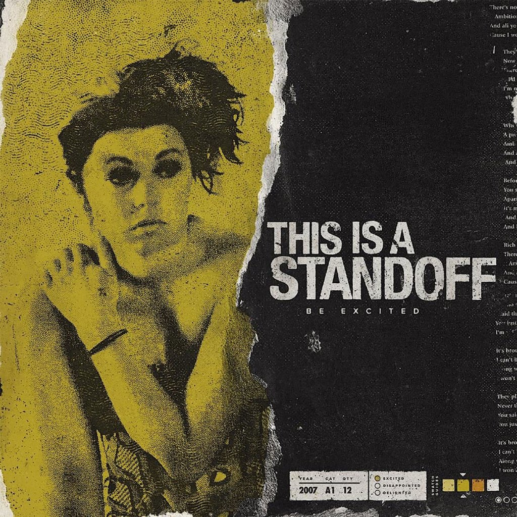 This Is A Standoff - Be Excited LP - Re-Issue - Mud Cake Records