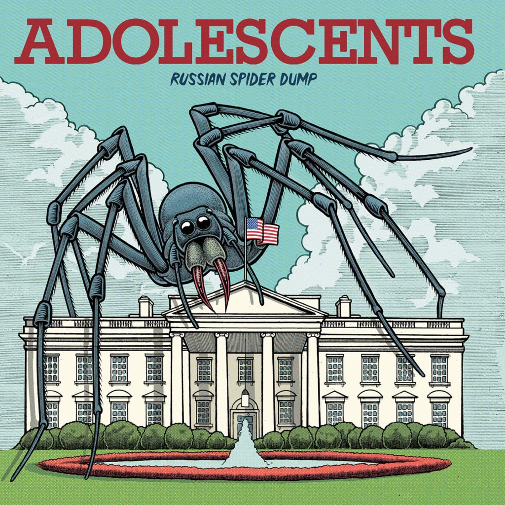 Adolescents - Russian Spider Dump LP (Cleopatra Records)