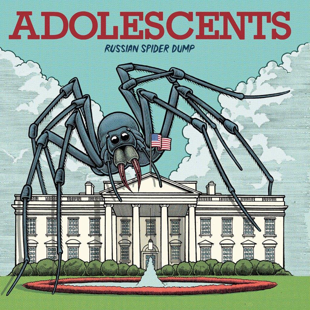 Adolescents - Russian Spider Dump LP (Cleopatra Records)