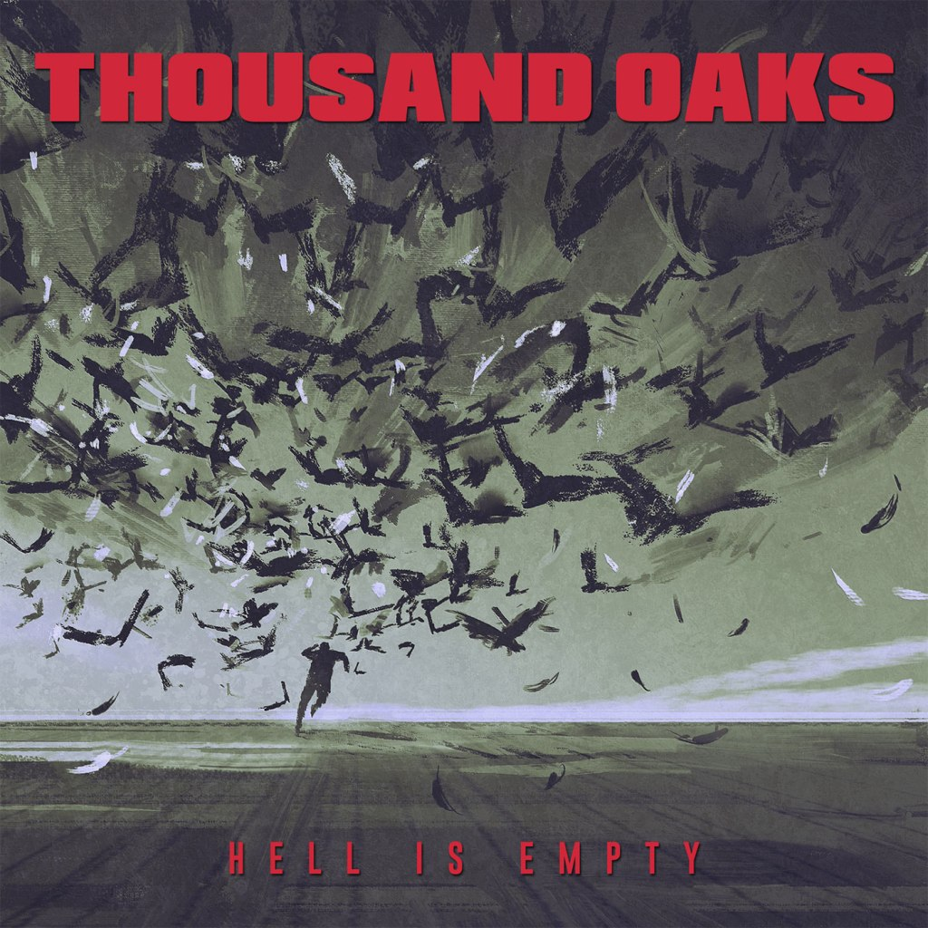 """Thousand Oaks - Hell Is Empty 10"""" - Mud Cake Records"""
