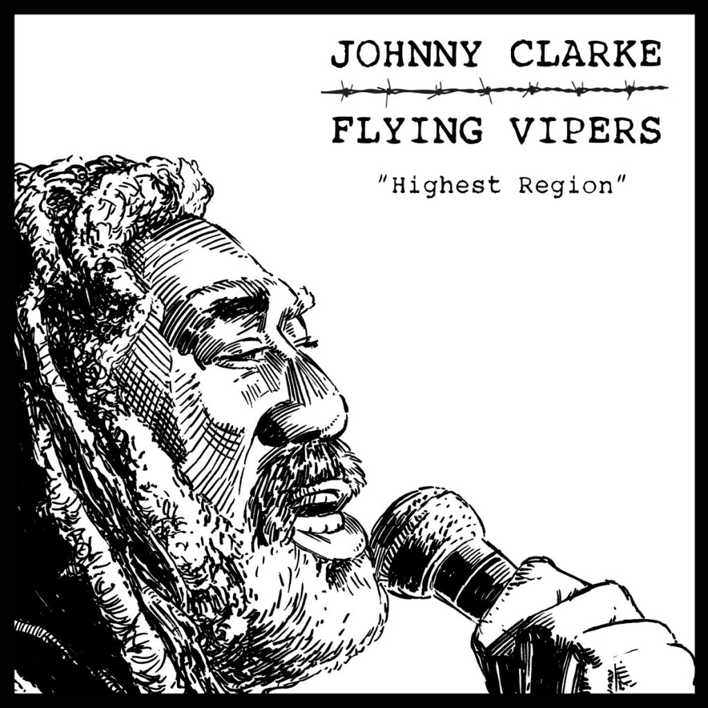 Flying Vipers w/ Johnny Clarke - Highest Region 7'' (Music ADD / Jump Up Records)