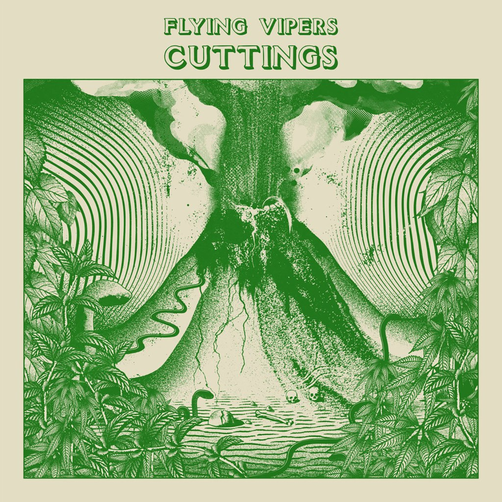Flying Vipers - Cuttings LP - Music ADD