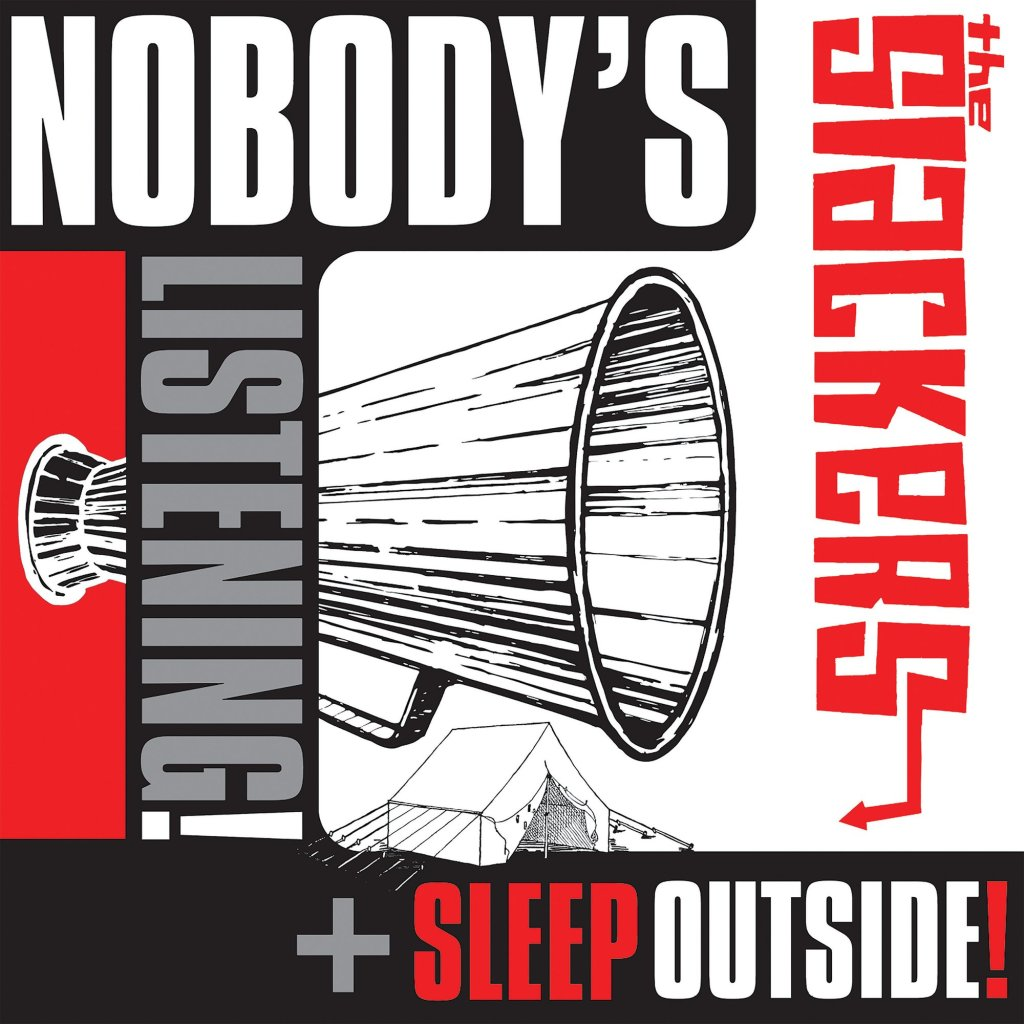 "The Slackers - Nobody's Listening / Sleep Outside 12"" EP - Pirates Press Records"