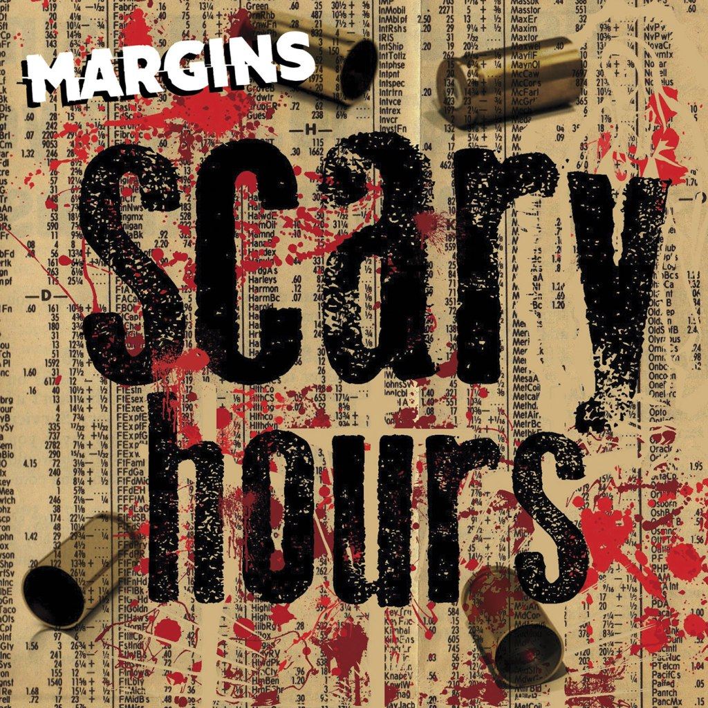 Scary Hours - Margins CD EP (Engineer Records / Pyrrhic Victory Records)