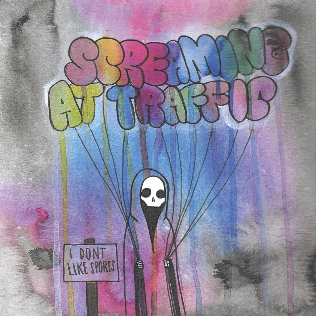 Screaming At Traffic - I Don't Like Sports LP - Little Rocket Records