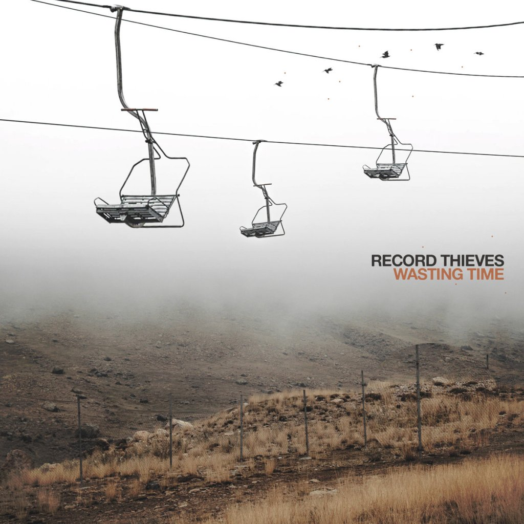 Record Thieves - Wasting Time LP - Thousand Islands Records