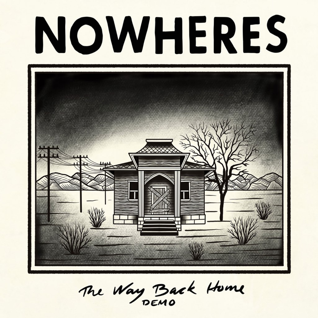 Nowheres - The Way Back Home CS EP - Negative Aggression Tapes / Tromatized Tapes