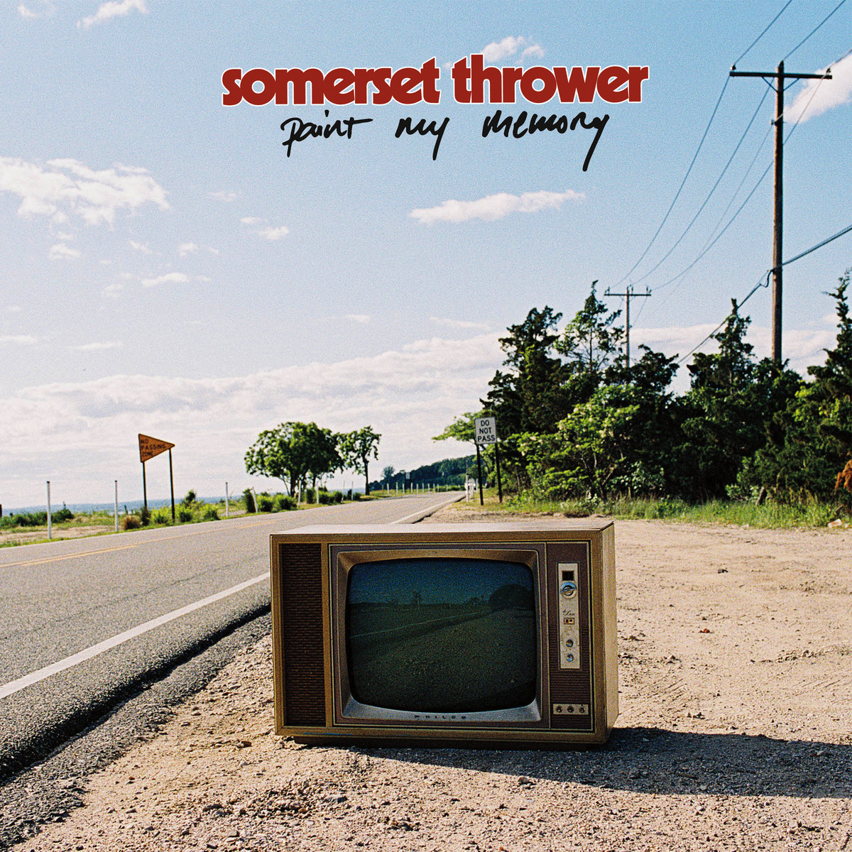 Somerset Thrower - Paint My Memory LP - Triple-B Records / Dead Broke Rekerdz