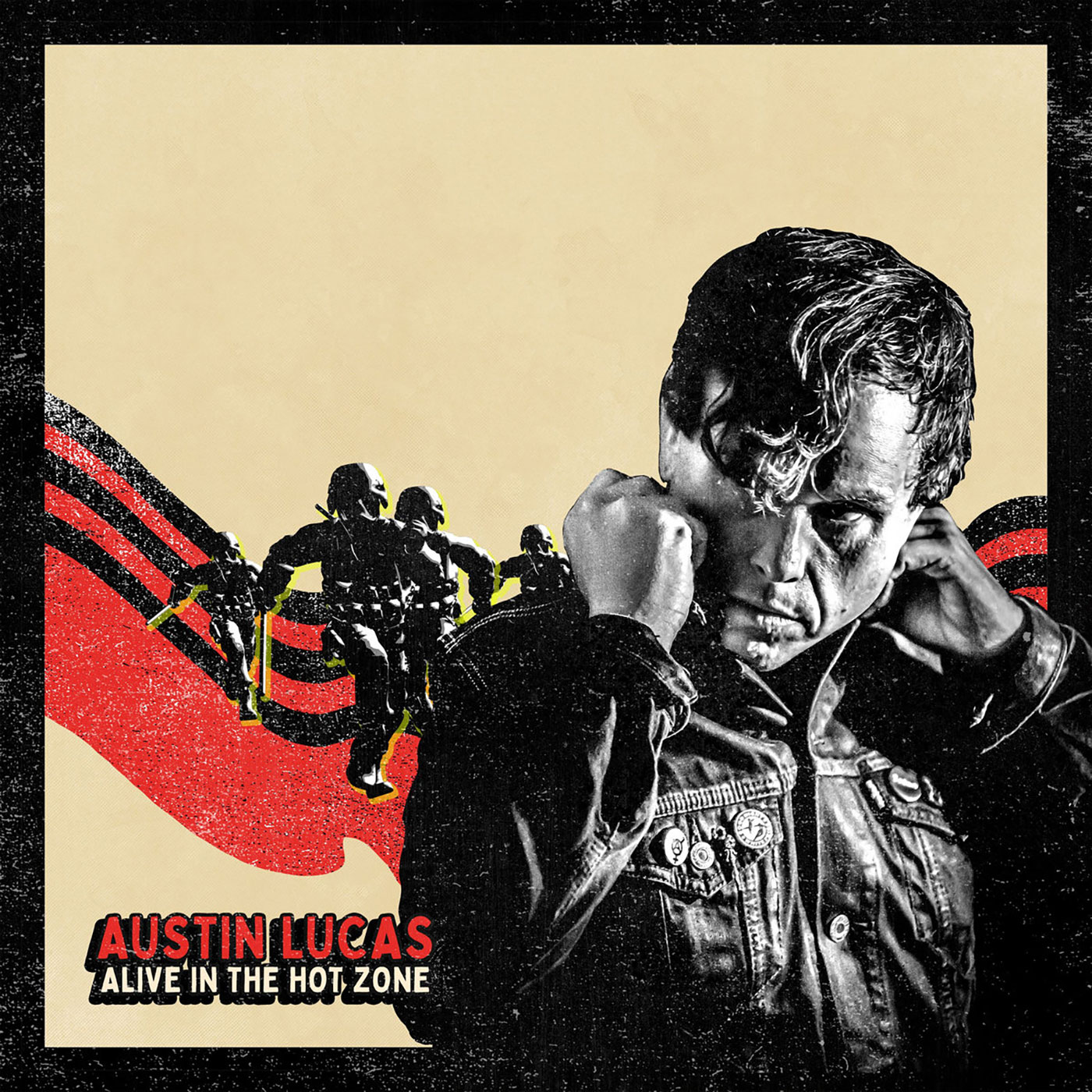 Austin Lucas - Alive In The Hot Zone CD - Sabotage Records / Flight 13 Records