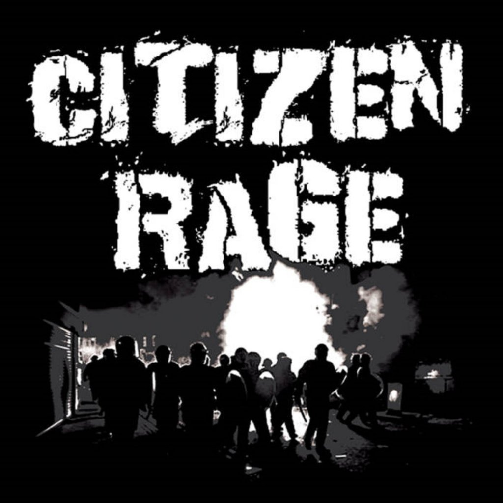 Citizen Rage - Black EP - Wasted Wax Records