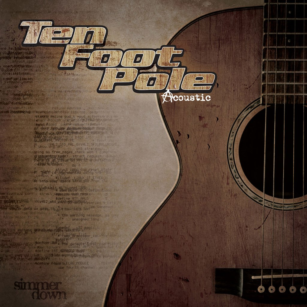 Ten Foot Pole - Simmer Down LP - Bearded Punk Records / People Of Punk Rock / Disconnect Disconnect Records