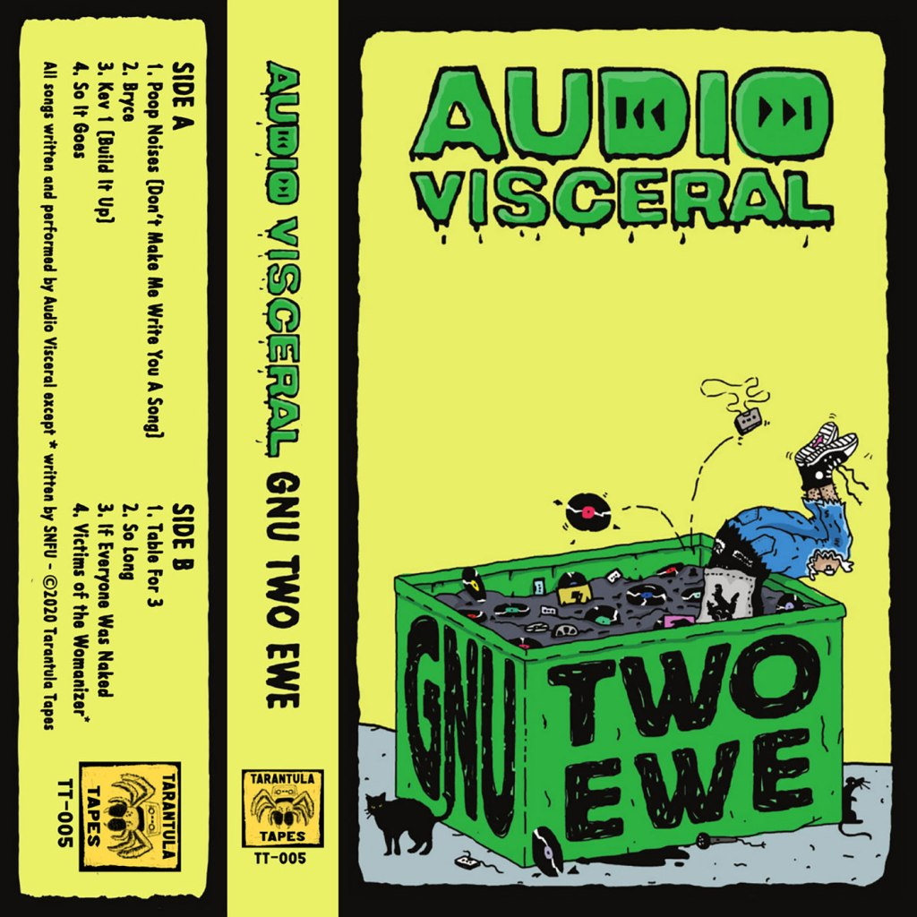 Audio Visceral - Gnu Two Ewe CS - Tarantula Tapes