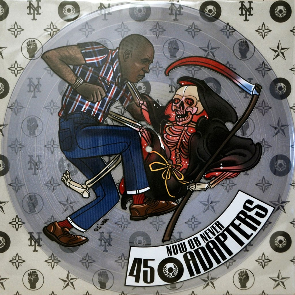 """45 Adapters - Now Or Never 12"""" EP - Pirates Press Records"""
