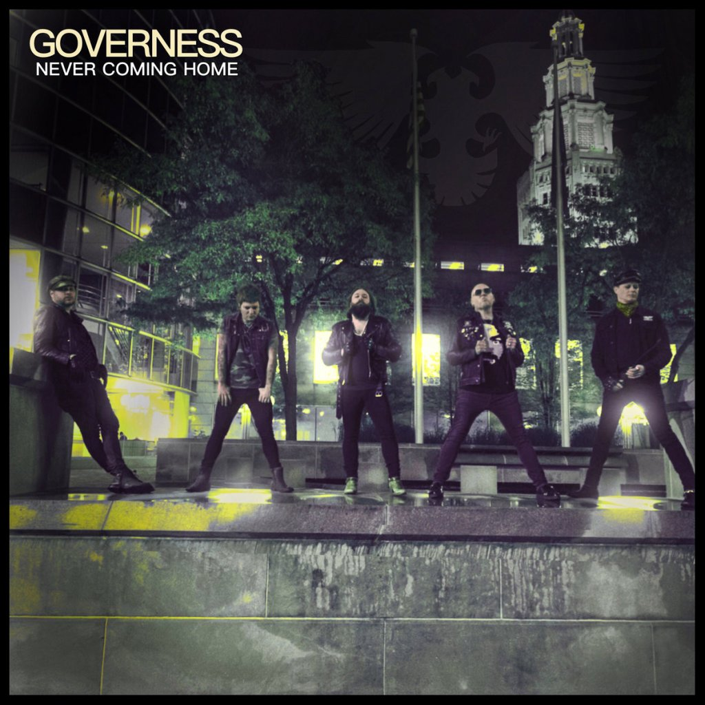 Governess - Never Coming Home CD