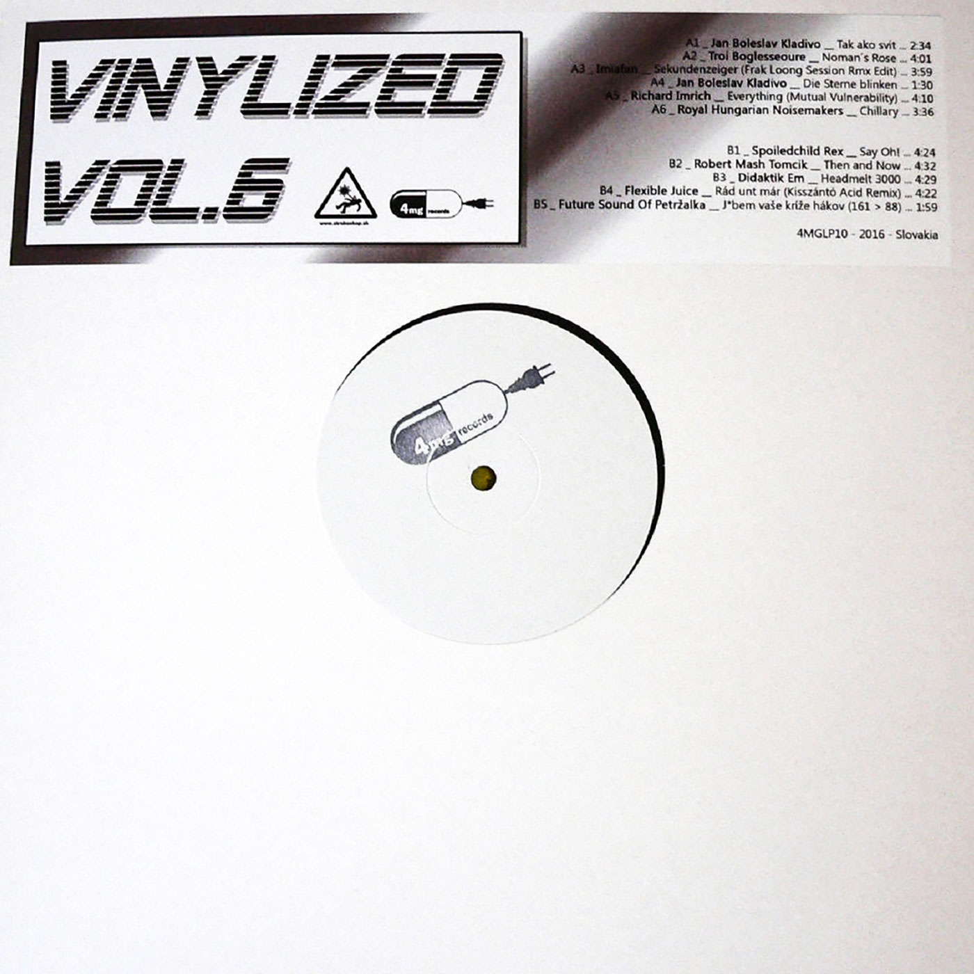 VA - Vinylized Vol.6 LP - 4mg Records