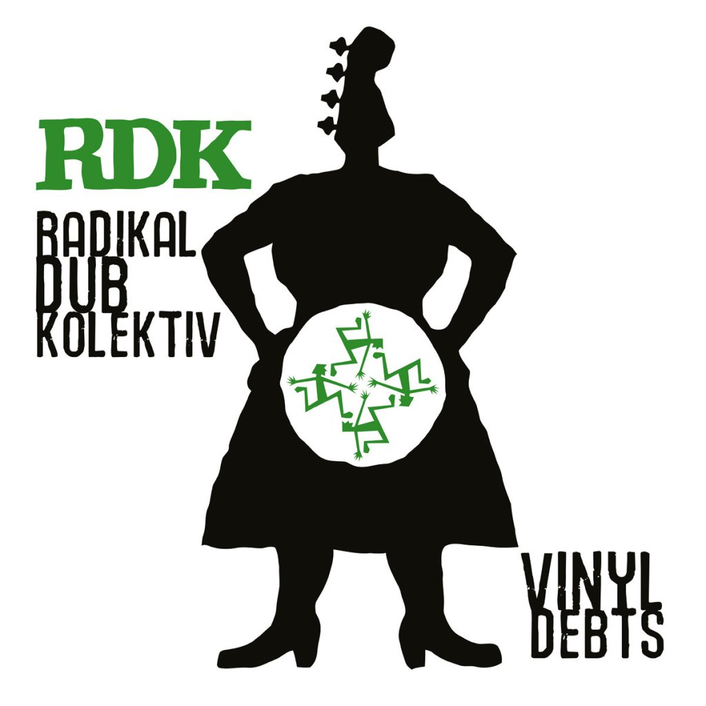 "Radikal Dub Kolektiv - Vinyl Debts 12"" EP - PDV Records"