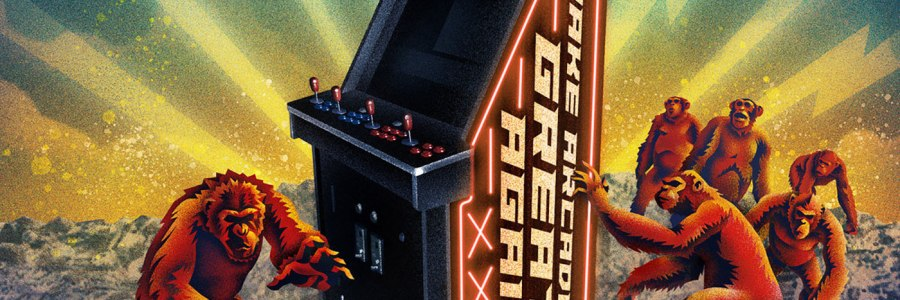 Krang - Make Arcade Great Again LP - SBÄM Records / Sound Speed Records