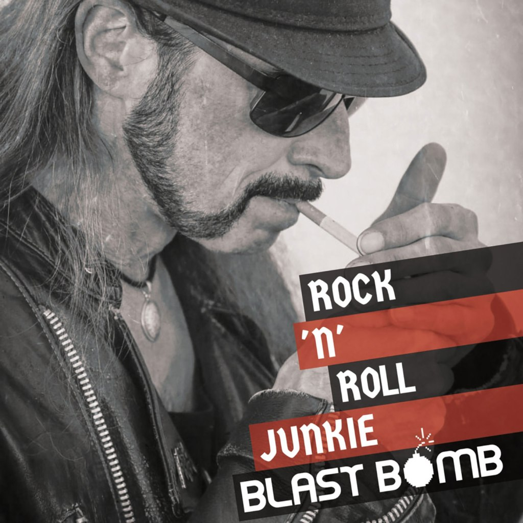 "Blast Bomb - Rock'n'Roll Junkie 10"" EP - Undead Artists Records"