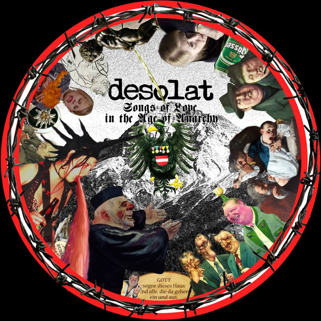 "Desolat - Songs Of Love In The Age Of Anarchy 12"" Picture Disc - Bloodshed666 Records"