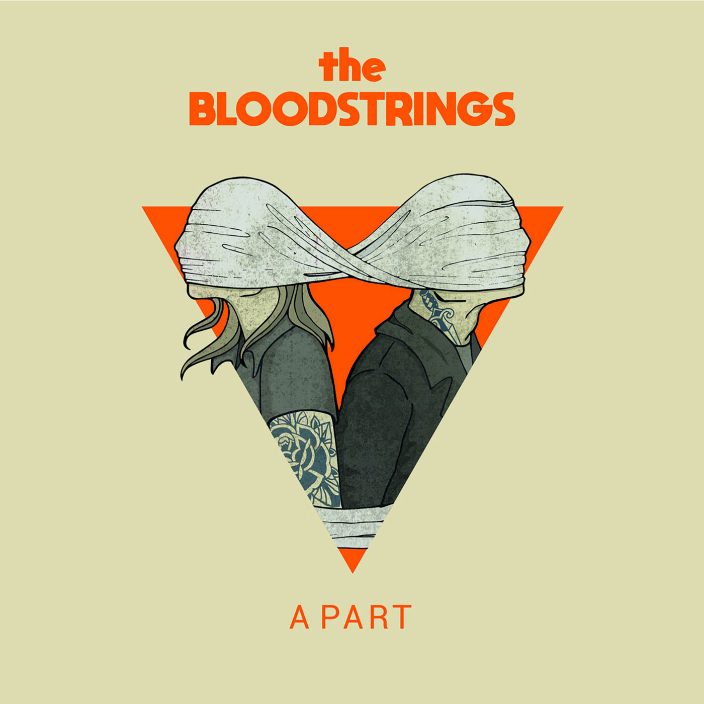 "Bloodstrings - A Part 10"" EP - SBÄM Records"