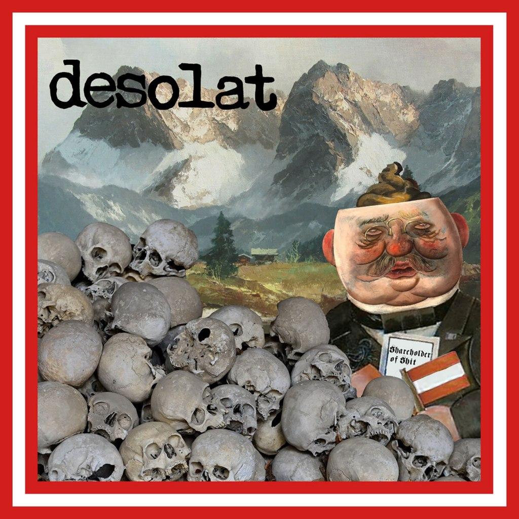 """Desolat - Shareholder Of Shit 10"""" EP - Bloodshed666 Records"""