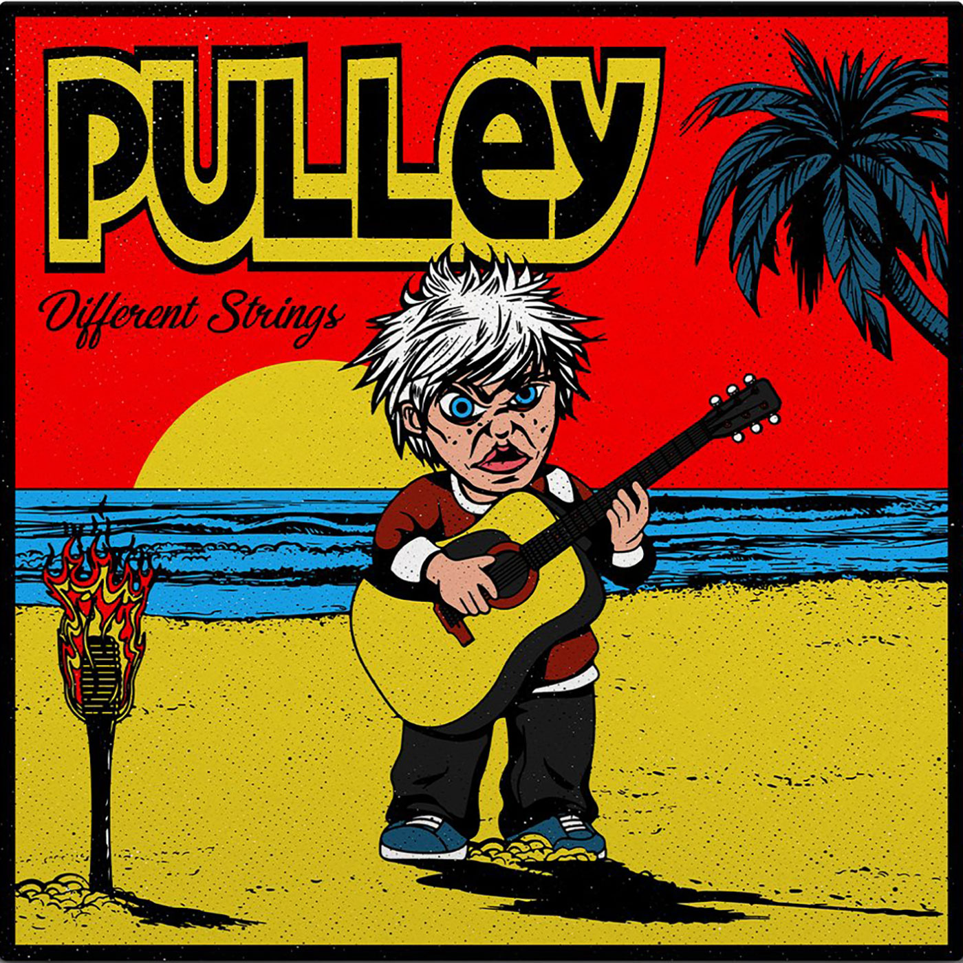 Pulley - Different Strings EP - SBÄM Records