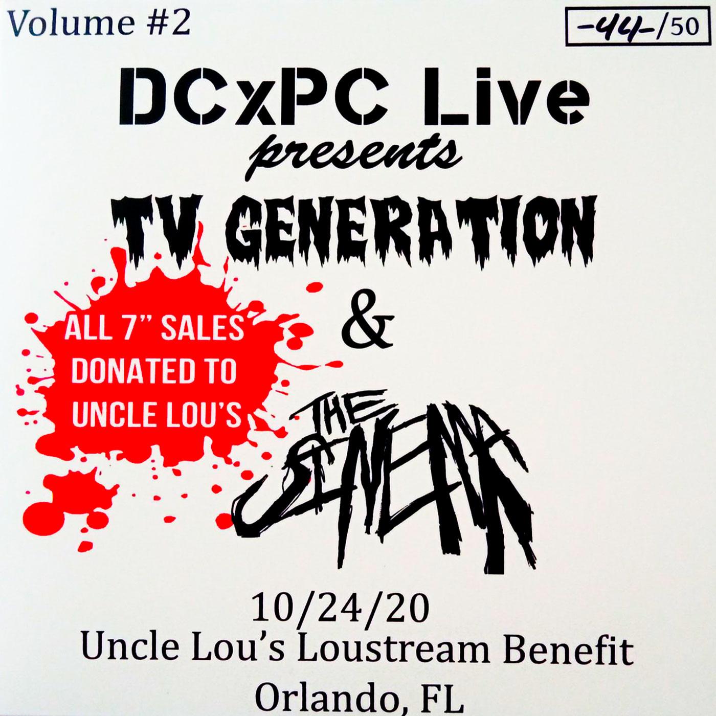 TV Generation & The Sinema - Live at Uncle Lou's, Orlando FL - DCxPC Live Vol. 2