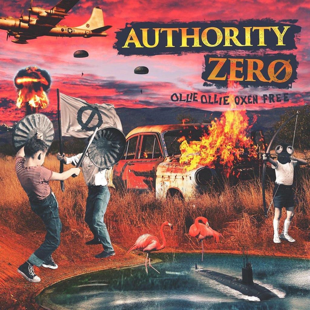 Authority Zero - Ollie Ollie Oxen Free LP