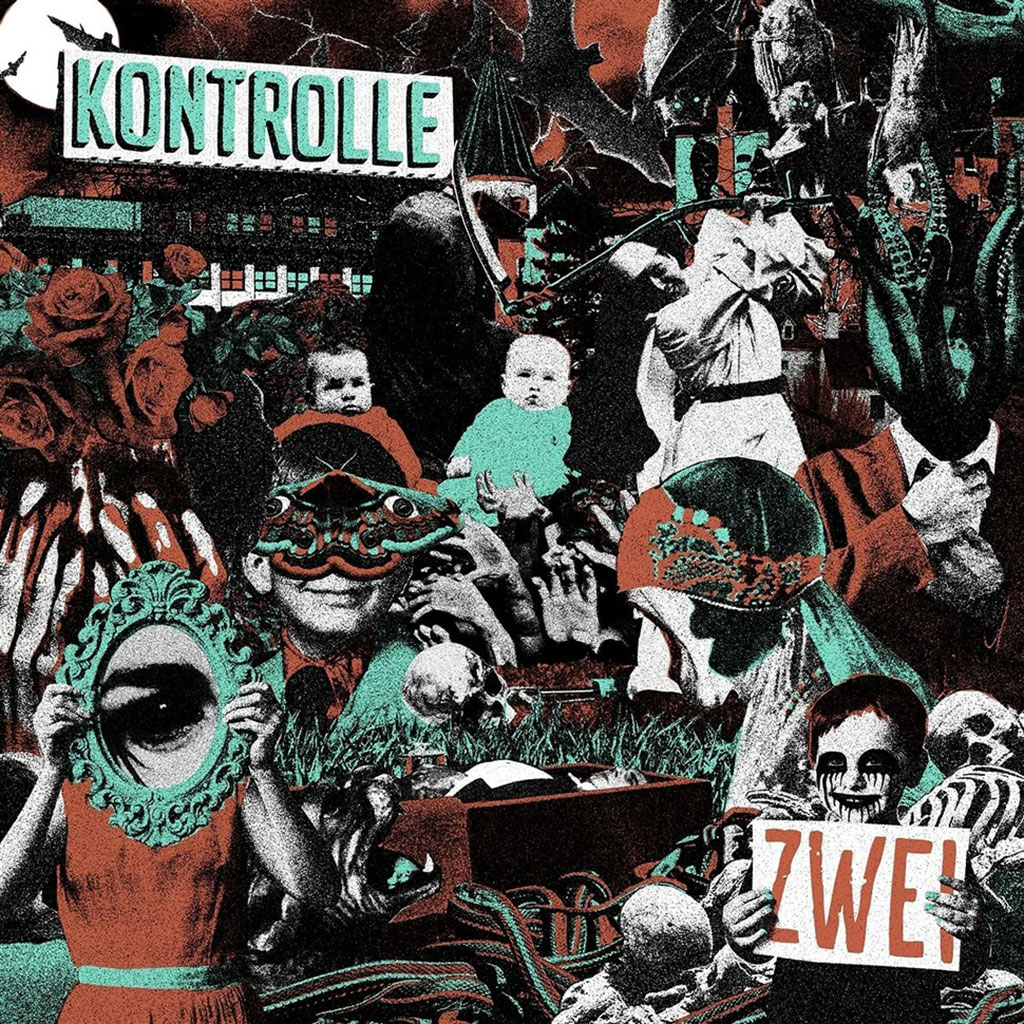 Kontrolle - Zwei LP - Holy Goat Records / Cargo Records