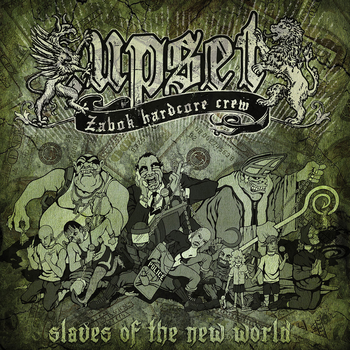 .upset – Slaves Of The New World CD (Geenger Records)