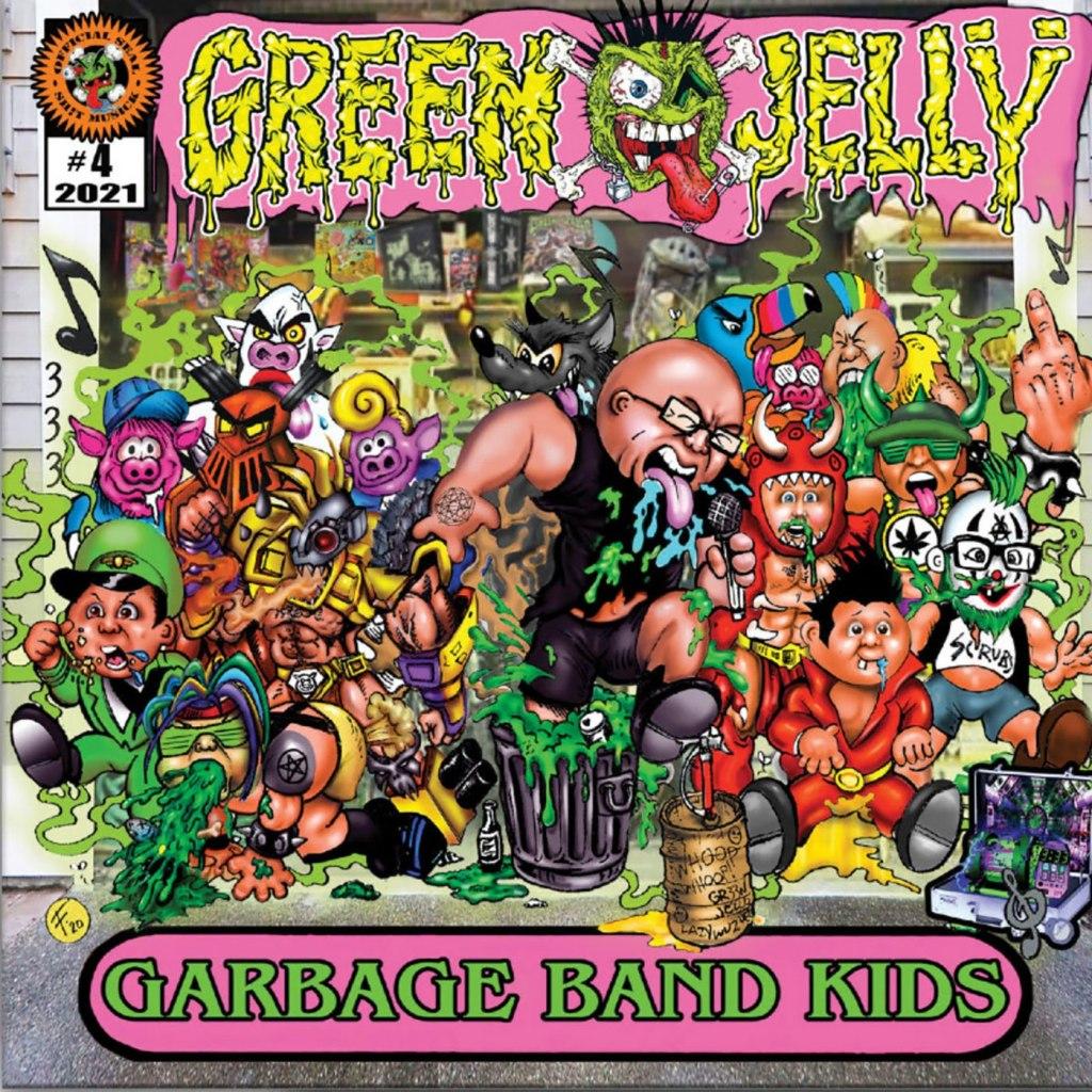 Green Jellÿ - Garbage Band Kids CD - Cleopatra Records