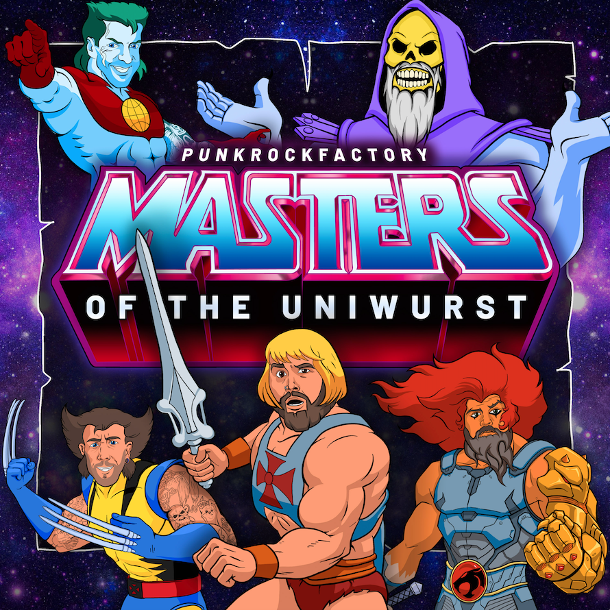 Punk Rock Factory - Masters Of The Uniwurst