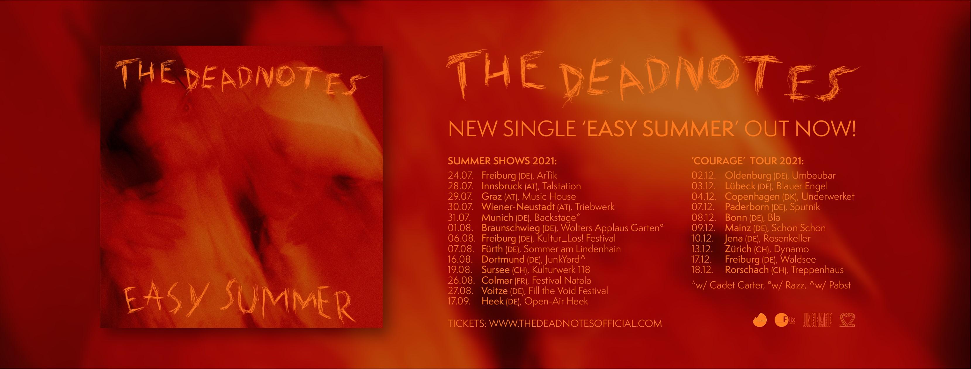 The Deadnotes - Tour