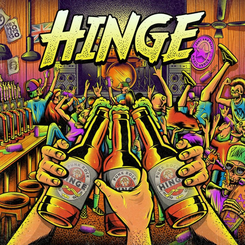 Hinge - Hinge CD EP