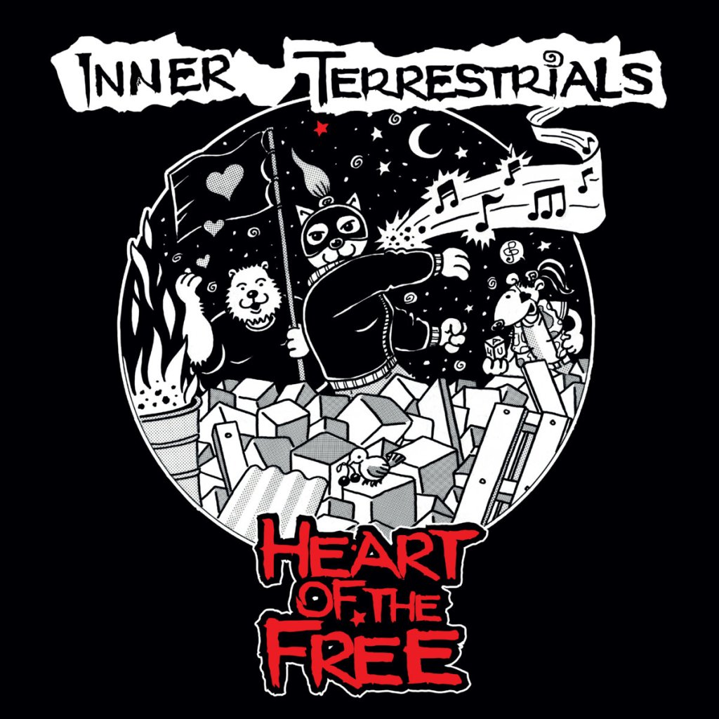 Inner Terrestrials - Heart Of The Free - Various Labels