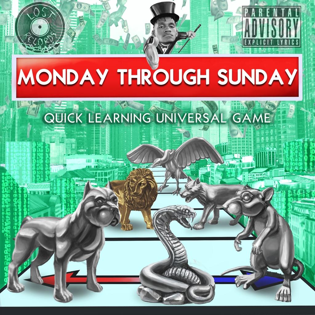 Don Esco - Monday Through Sunday - Lost Records