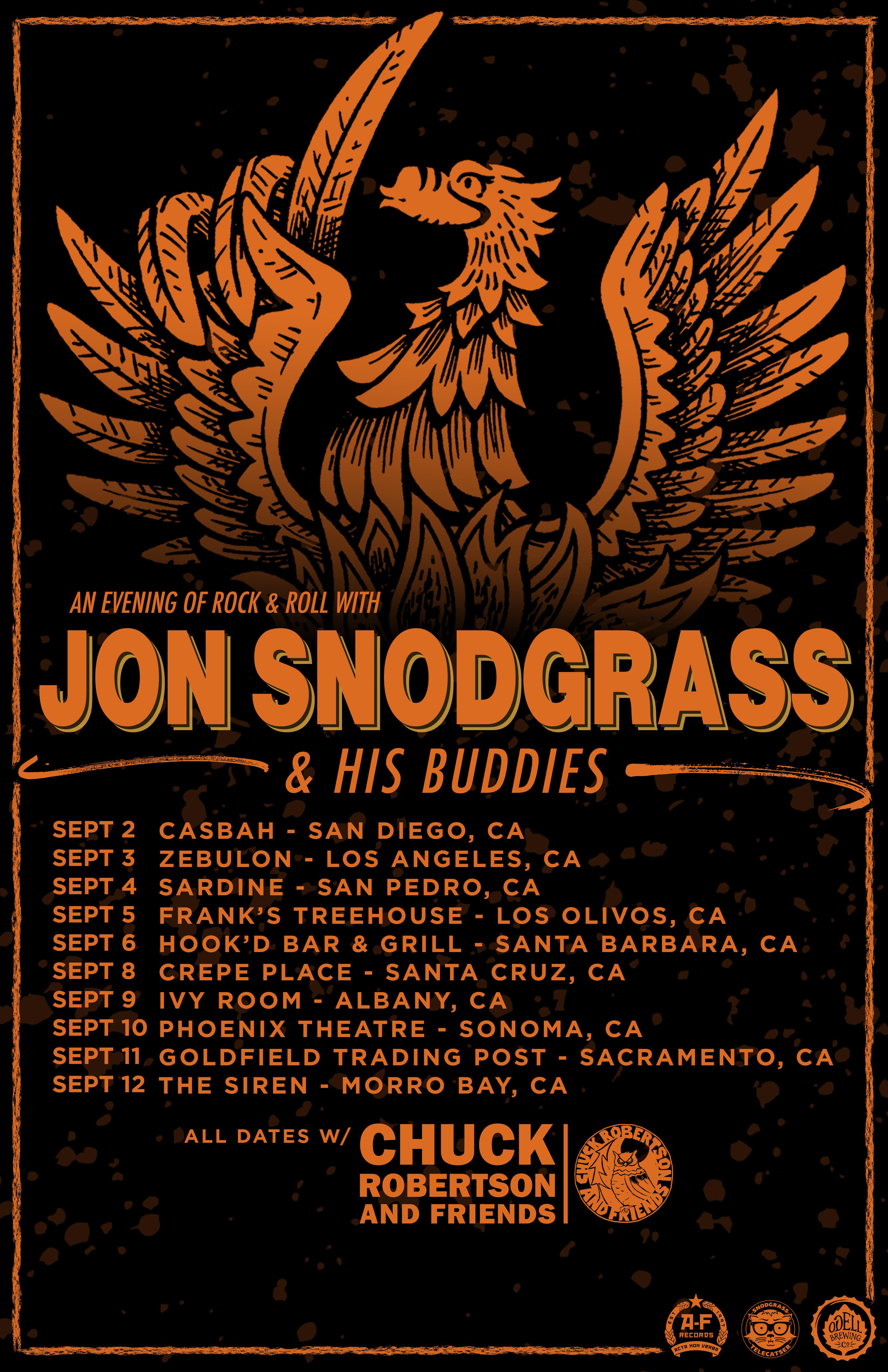 Jon Snodgrass - Fall Tour 2021