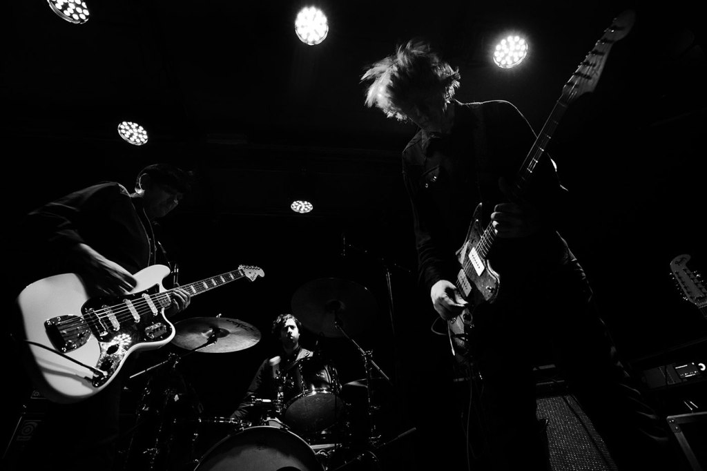 Jem Doulton and Thurston Moore