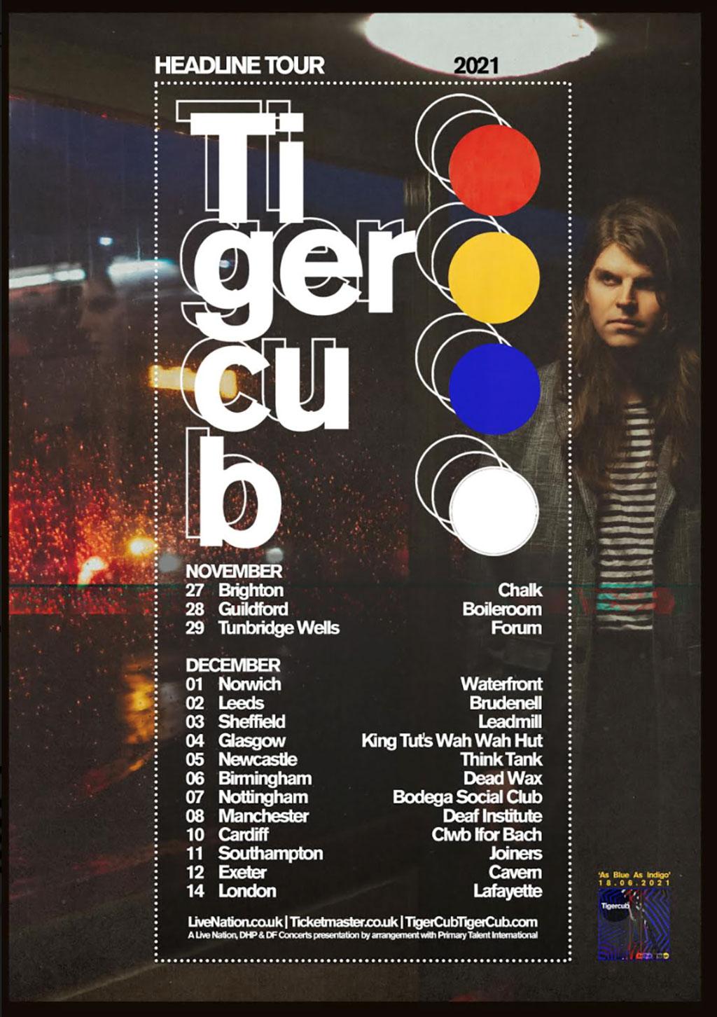 Tigercub - Headline Tour 2021