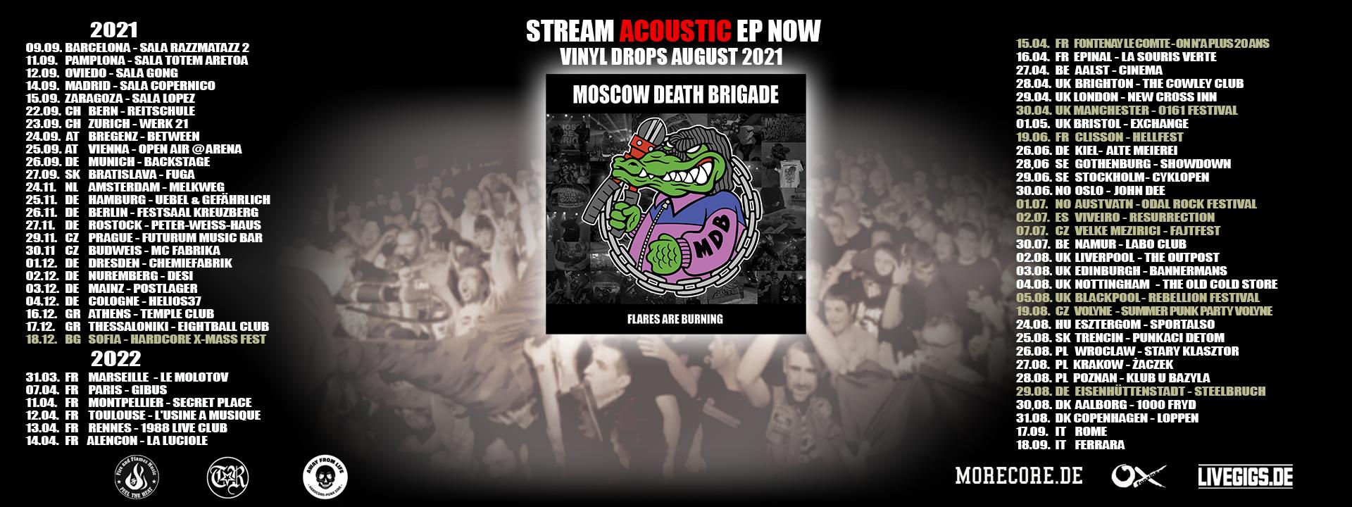 Moscow Death Brigade - Tour