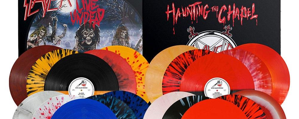 Slayer - Metal Blade Reissues